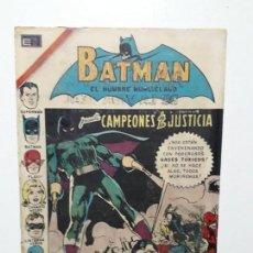 Tebeos: BATMAN N° 590 - CAMPEONES DE LA JUSTICIA - ORIGINAL EDITORIAL NOVARO. Lote 147427594