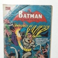 Tebeos: BATMAN N° 429 - CAMPEONES DE LA JUSTICIA - ORIGINAL EDITORIAL NOVARO. Lote 147428106