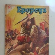 Tebeos: EPOPEYA. Nº 19. NOVARO.. Lote 147520710