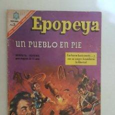 Tebeos: EPOPEYA. Nº 102. NOVARO.. Lote 147521154