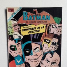 Tebeos: BATMAN N° 459 - CAMPEONES DE LA JUSTICIA - ORIGINAL EDITORIAL NOVARO. Lote 147562454