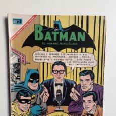 Tebeos: BATMAN N° 381 - ORIGINAL EDITORIAL NOVARO. Lote 147562770