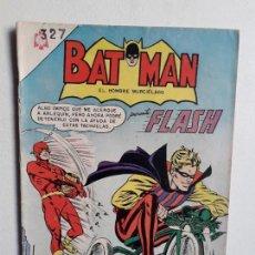 Tebeos: BATMAN N° 327 - FLASH! - ORIGINAL EDITORIAL NOVARO. Lote 147562922