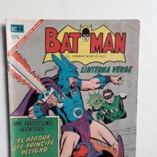 Tebeos: BATMAN N° 374 - LINTERNA VERDE! - ORIGINAL EDITORIAL NOVARO. Lote 147564310