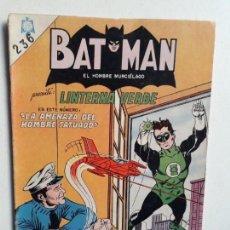 Tebeos: BATMAN N° 236 - LINTERNA VERDE! - ORIGINAL EDITORIAL NOVARO. Lote 147564994
