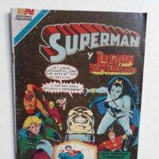 Tebeos: SUPERMÁN N° 3-114 SERIE AVESTRUZ - LEGIÓN DE SUPERHÉROES - ORIGINAL EDITORIAL NOVARO. Lote 147674358
