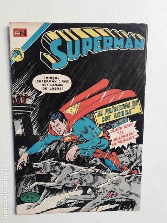 SUPERMÁN N° 894 - ORIGINAL EDITORIAL NOVARO (Tebeos y Comics - Novaro - Superman)