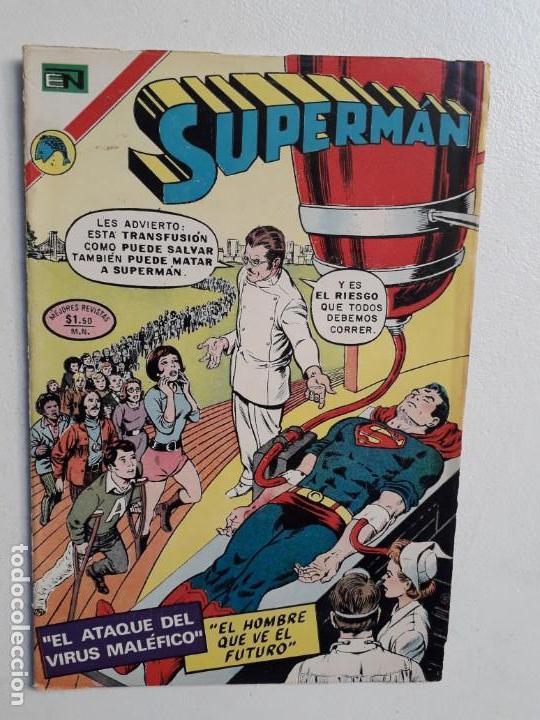 SUPERMÁN N° 886 - ORIGINAL EDITORIAL NOVARO (Tebeos y Comics - Novaro - Superman)