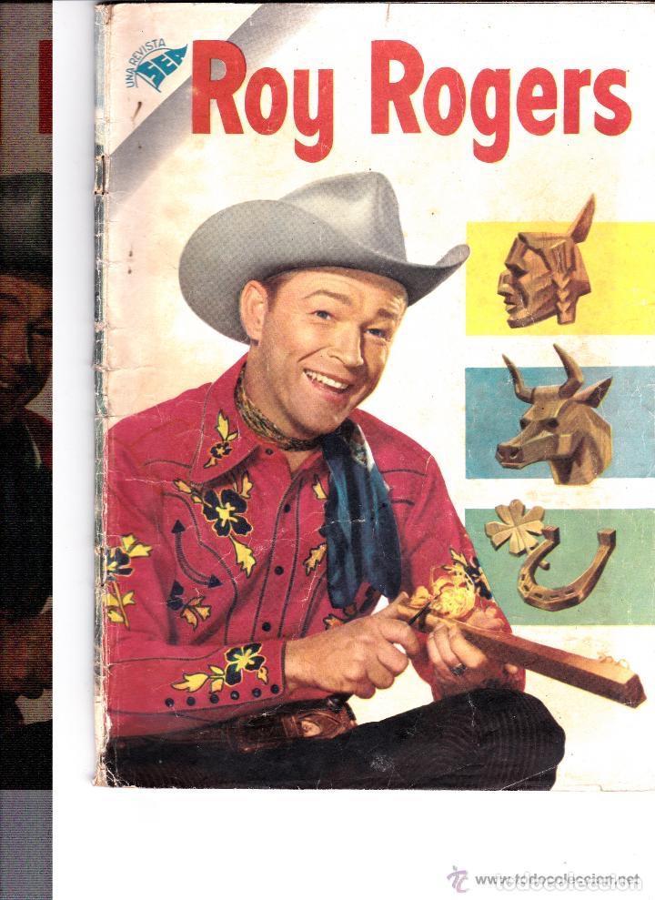 ROY ROGERS Nº45 MAYO 1956 (Tebeos y Comics - Novaro - Roy Roger)