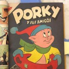 Tebeos: PORKY Y SUS AMIGOS-AÑOS 1950--AÑOIV-Nº45-PORKY Y SUS AMIGOS(20€). Lote 147710630