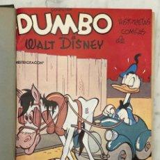 Tebeos: COLECCION DUMBO-HISTORIETAS COMICAS-W.D.(ESPAÑOL)-Nº22-DUMBO I (20€). Lote 147768270