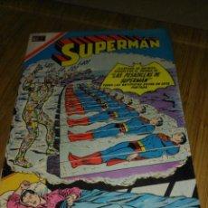 Tebeos: SUPERMAN NOVARO Nº 628 MUY DIFÍCIL. Lote 147895346
