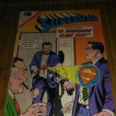 Tebeos: SUPERMAN NOVARO Nº 629 MUY DIFÍCIL. Lote 147898610