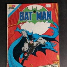 Tebeos: ORIGINAL BATMAN EDITORIAL NOVARO SERIE AVESTRUZ NUMERO 3-15 MÉXICO. Lote 148013890