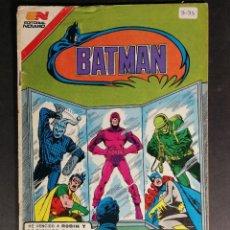 Tebeos: ORIGINAL BATMAN EDITORIAL NOVARO SERIE AVESTRUZ NUMERO 3-31 MÉXICO. Lote 148015566