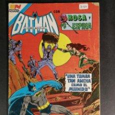 Tebeos: ORIGINAL BATMAN EDITORIAL NOVARO SERIE AVESTRUZ NUMERO 3-57 MÉXICO. Lote 148017794