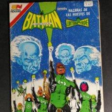 Tebeos: ORIGINAL BATMAN EDITORIAL NOVARO SERIE AVESTRUZ NUMERO 3-60 MÉXICO. Lote 148018106
