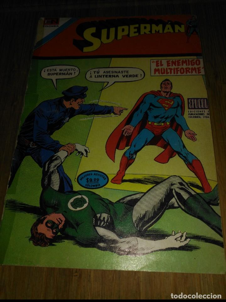 SUPERMÁN NOVARO COLOMBIA Nº 92 (Tebeos y Comics - Novaro - Superman)