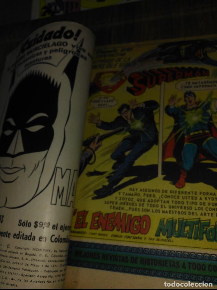 Tebeos: Supermán Novaro Colombia Nº 92 - Foto 3 - 148066494