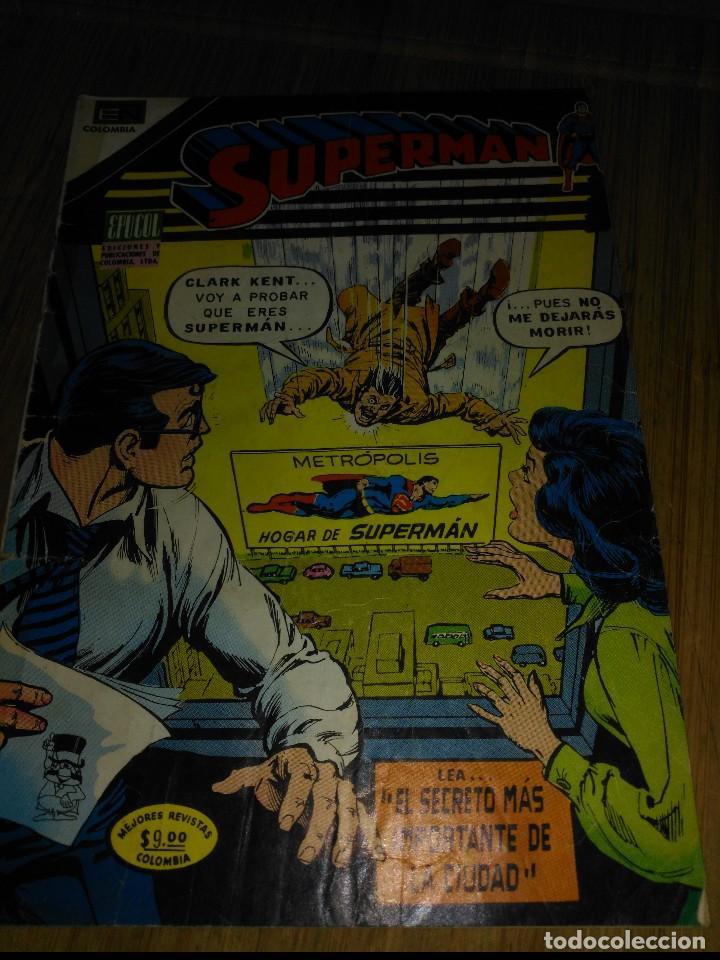 SUPERMÁN NOVARO COLOMBIA Nº 86 (Tebeos y Comics - Novaro - Superman)