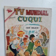 Tebeos: TV MUNDIAL N° 13 - ORIGINAL EDITORIAL NOVARO. Lote 148097062
