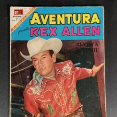 Tebeos: ORIGINAL AVENTURA REX ALLEN EDITORIAL NOVARO NÚMERO 589 MEXICO . Lote 148150362