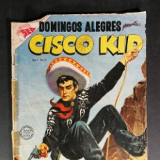 Tebeos: ORIGINAL DOMINGOS ALEGRES CISCO KID EDITORIAL NOVARO NÚMERO 32 MEXICO . Lote 148151690