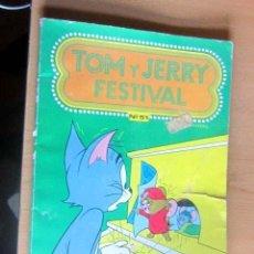 Tebeos: TOM Y JERRY FESTIVAL PEQUEÑO ROTO TAPA. Lote 148171842