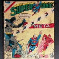 Tebeos: ORIGINAL SUPERCOMIC SUPERMAN EDITORIAL NOVARO NÚMERO 52 MEXICO. Lote 148174706