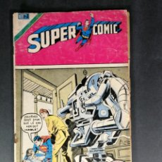 Tebeos: ORIGINAL SUPERCOMIC SUPERMAN EDITORIAL NOVARO NÚMERO 85 MEXICO. Lote 148176366