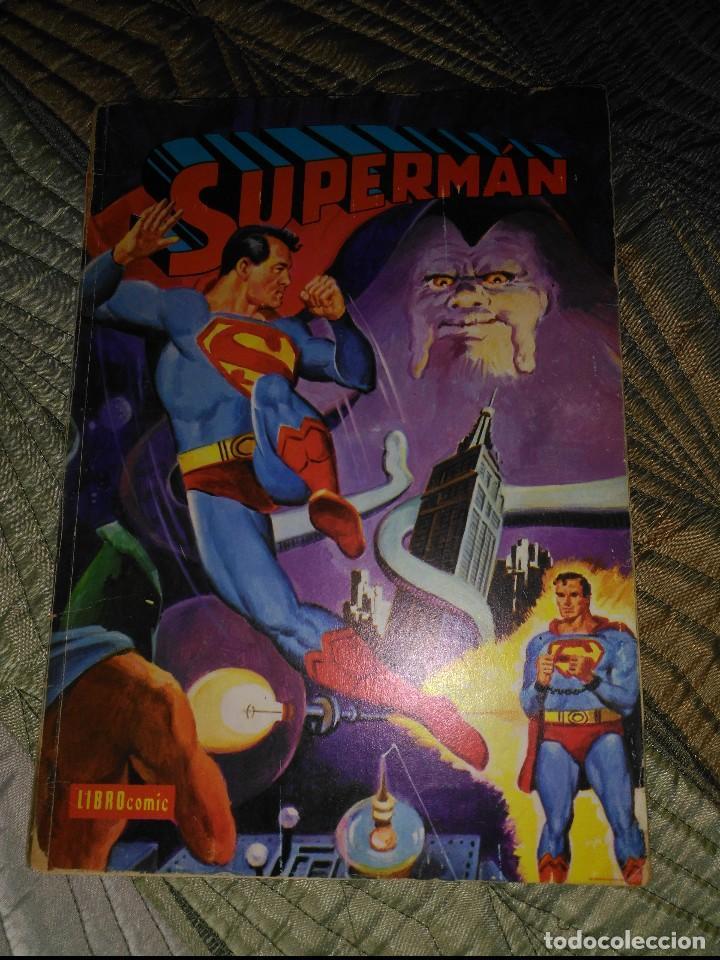SUPERMAN NOVARO LIBROCÓMIC IL Nº 40 (Tebeos y Comics - Novaro - Superman)
