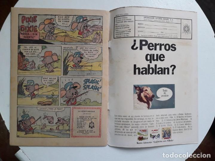 Tebeos: Chiquilladas en tv n° 184 - Hanna-Barbera (Huckleberry) - original editorial Novaro - Foto 3 - 148267950