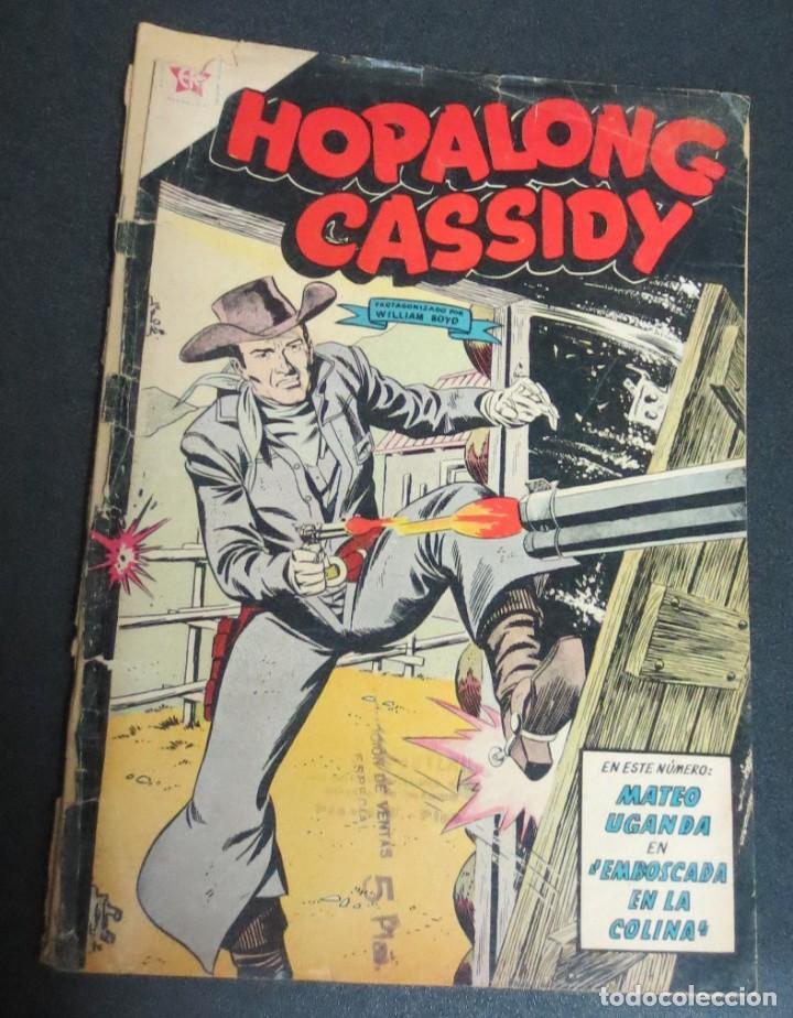 HOPALONG CASSIDY MATEO UGANDA EN EMBOSCADA EN LA COLINA Nº 84 1 MAYO 1961 EDICIONES RECREATIVAS (Tebeos y Comics - Novaro - Hopalong Cassidy)