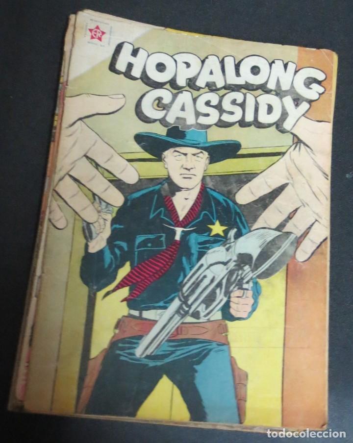 HOPALONG CASSIDY EL CABALLO ENEMIGO DE LOS FORAJIDOS Nº 53 1 OCTUBRE 1958 EDICIONES RECREATIVAS (Tebeos y Comics - Novaro - Hopalong Cassidy)