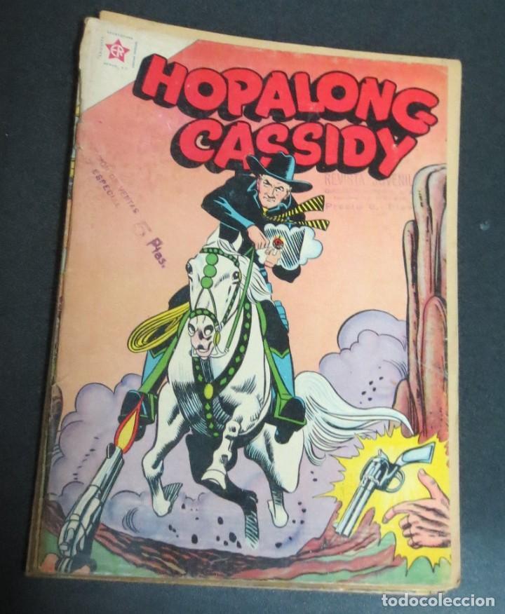 HOPALONG CASSIDY LA HUIDA DEL PILLO Nº 79 1 DICIEMBRE 1960 EDICIONES RECREATIVAS (Tebeos y Comics - Novaro - Hopalong Cassidy)