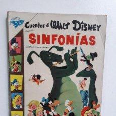 Tebeos: CUENTOS DE WALT DISNEY N° EXTRAORDINARIO (SINFONÍAS) - ORIGINAL EDITORIAL NOVARO. Lote 148399430