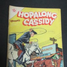Tebeos: HOPALONG CASSIDY EL MISTERIO DE LA DOBLE X Nº 47 1 ABRIL 1958 EDICIONES RECREATIVAS. Lote 150339188