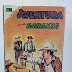 Tebeos: BONANZA! - AVENTURA N° 603 - ORIGINAL EDITORIAL NOVARO. Lote 148519582