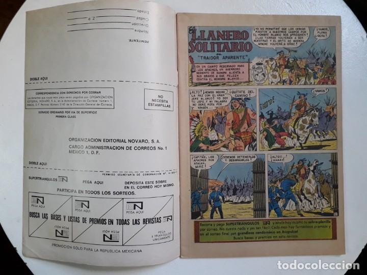 Tebeos: El llanero solitario n° 273 - original editorial Novaro - Foto 2 - 148519858