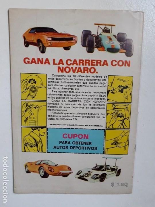 Tebeos: El llanero solitario n° 273 - original editorial Novaro - Foto 3 - 148519858