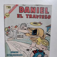 Tebeos: DANIEL EL TRAVIESO N° EXTRAORDINARIO - ORIGINAL EDITORIAL NOVARO. Lote 148562450