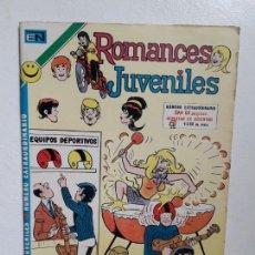 Tebeos: ROMANCES JUVENILES N° EXTRAORDINARIO - ORIGINAL EDITORIAL NOVARO. Lote 148562726