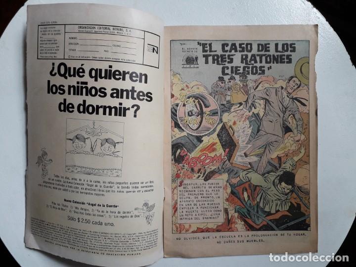 Tebeos: Domingos alegres n° 714 - El agente secreto de C.I.P.O.L. - original editorial Novaro - Foto 2 - 148610054