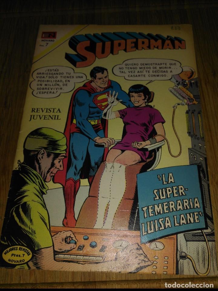 SUPERMAN NOVARO Nº 833 (Tebeos y Comics - Novaro - Superman)