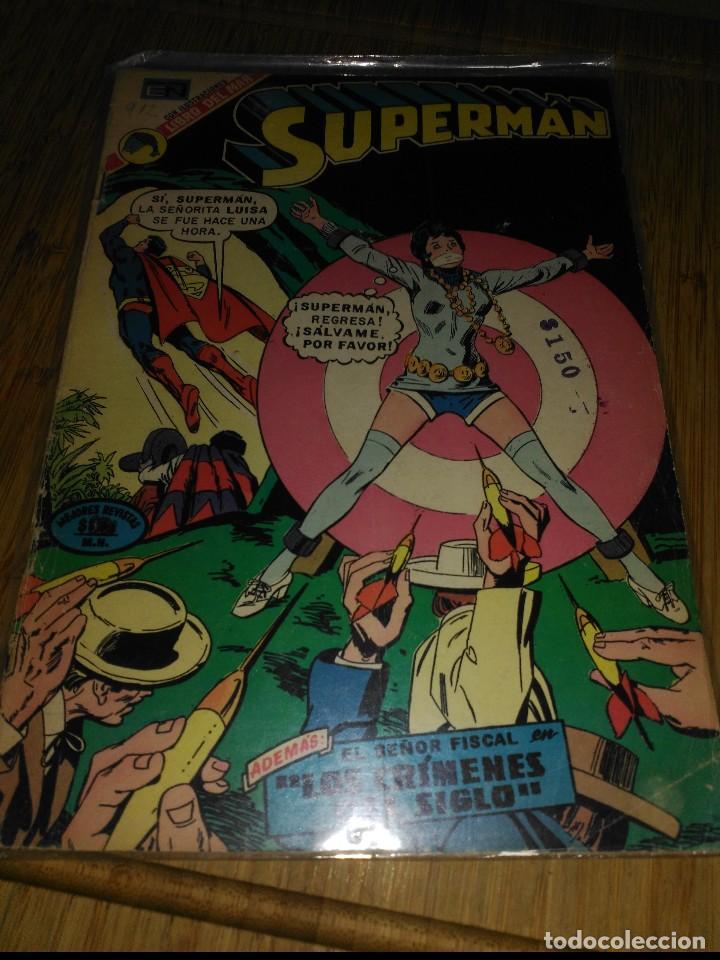 SUPERMAN NOVARO Nº 912 (Tebeos y Comics - Novaro - Superman)