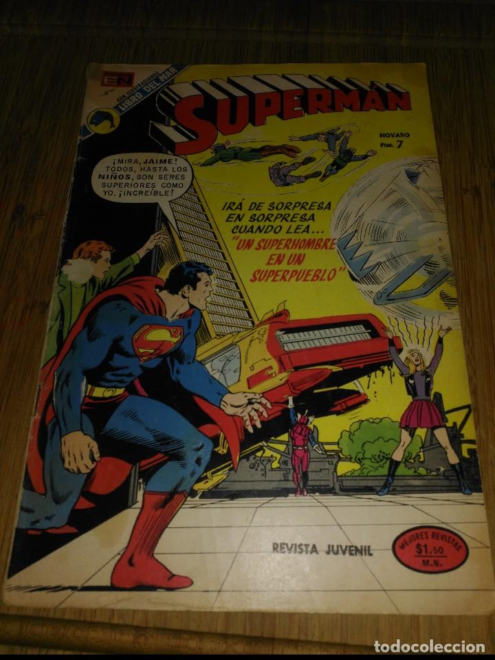 SUPERMAN NOVARO Nº 925 (Tebeos y Comics - Novaro - Superman)