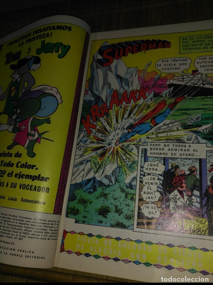 Tebeos: Superman Novaro Nº 962 - Foto 3 - 148651054