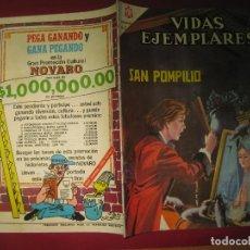 Tebeos: VIDAS EJEMPLARES Nº 227. SAN POMPILIO. EDITORIAL NOVARO 1966. . Lote 148951150