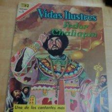 Tebeos: VIDAS ILUSTRES FEDOR CHALIAPIN Nº 171 1 OCTUBRE 1967 . Lote 149353562