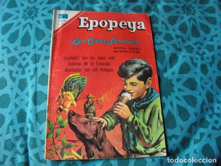 EPOPEYA - LOS 5 SENTIDOS Nº 114 EL DE LAS FOTOS VER TODOS MIS COMICS (Tebeos y Comics - Novaro - Epopeya)